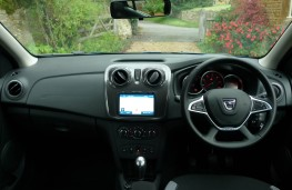 Dacia Logan Stepway, dashboard